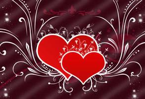 Hearts 2 by Al4eto