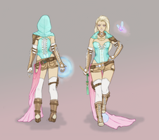 Honey - Back and Front View by Phanteia