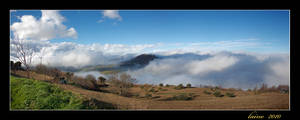 The mist panorama by laino