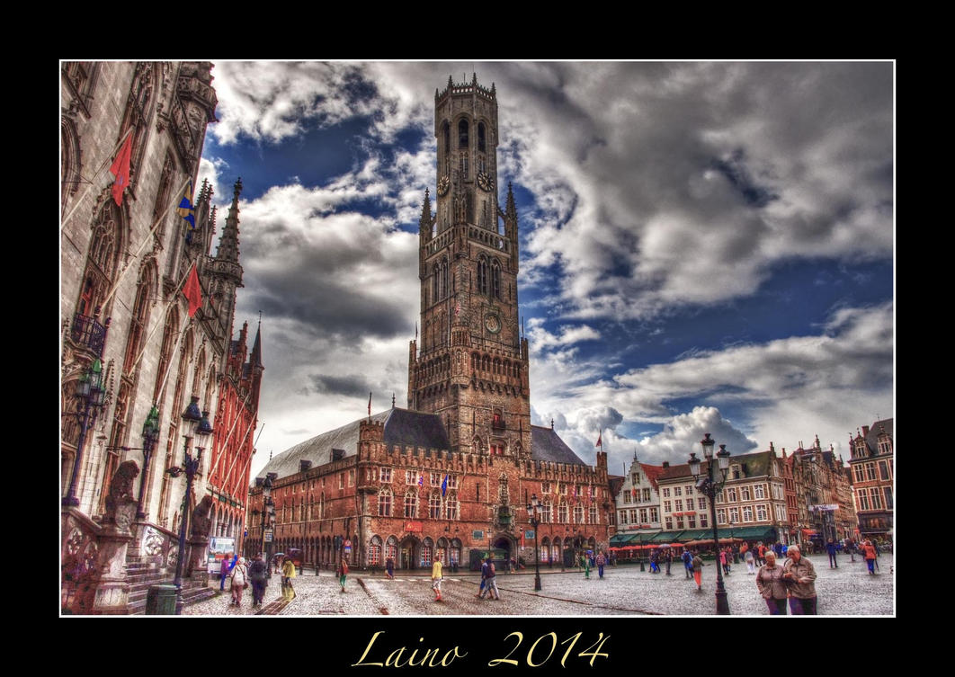 Bruges - Belfort Tower by laino