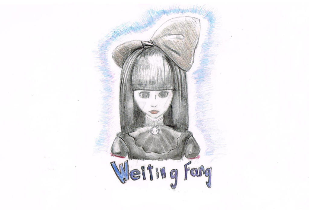 Asia gothic girl Weiting Fang by DisgustJade
