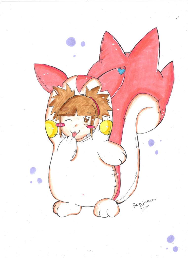 A Shiny Pachirisu Appeared? by Rugi-chan on deviantART