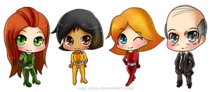 Totally Chibi Spies
