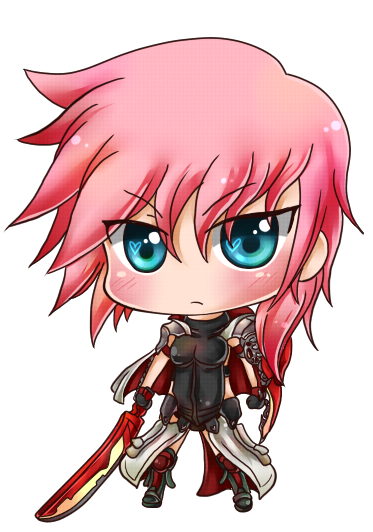 Lightning Returns Chibi by Rugi-chan
