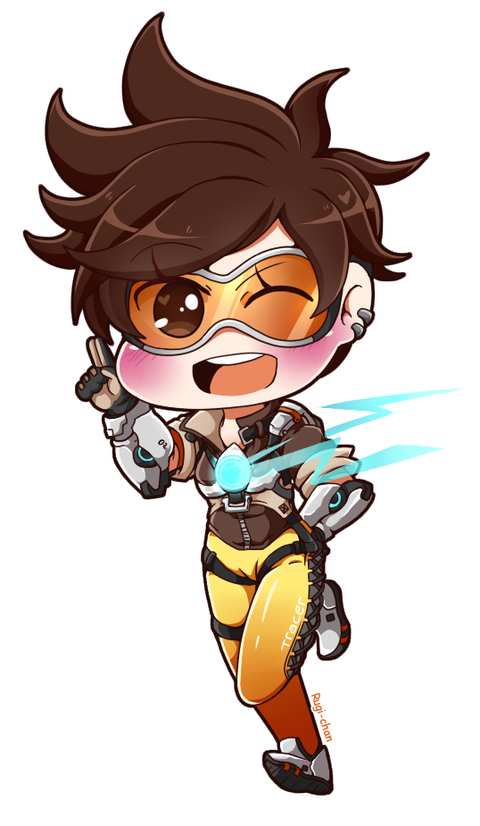Tiny Tracer by Rugi-chan