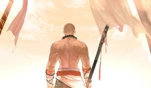 bareheaded shaolin monk