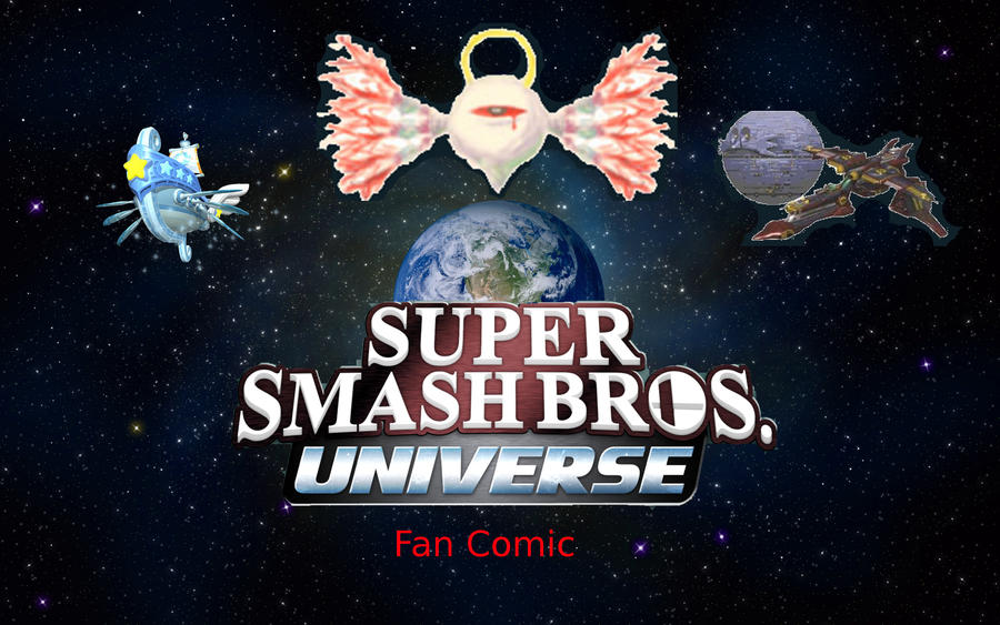 Super Smash Bros. Universe Fan Comic by RoxasXIIkeys