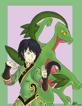 Ren And  Grovyle
