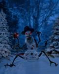 Crazy Snowman