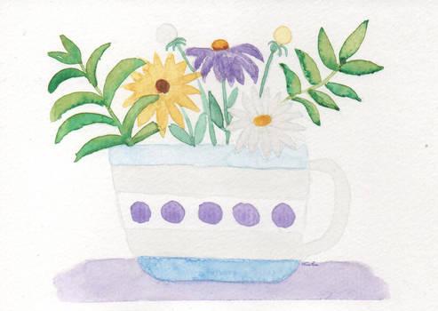 Flowers in mug 1
