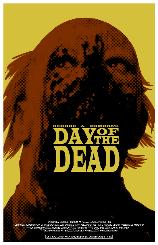 Day of the Dead Poster by SHAN-01
