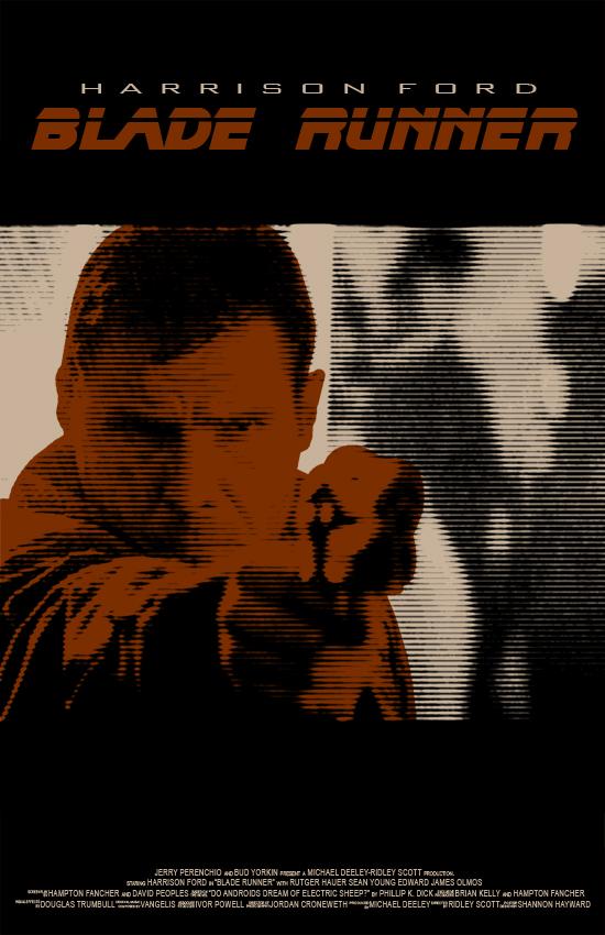 Blade Runner Poster - Deckard by SHAN-01
