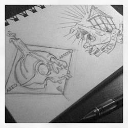 Late nite doodles...
