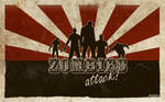 Zombies attack wallpaper by clarityconfusion