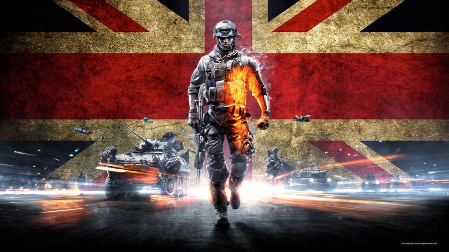 Battlefield 3 Wallpaper UK 1080p By GuMNade