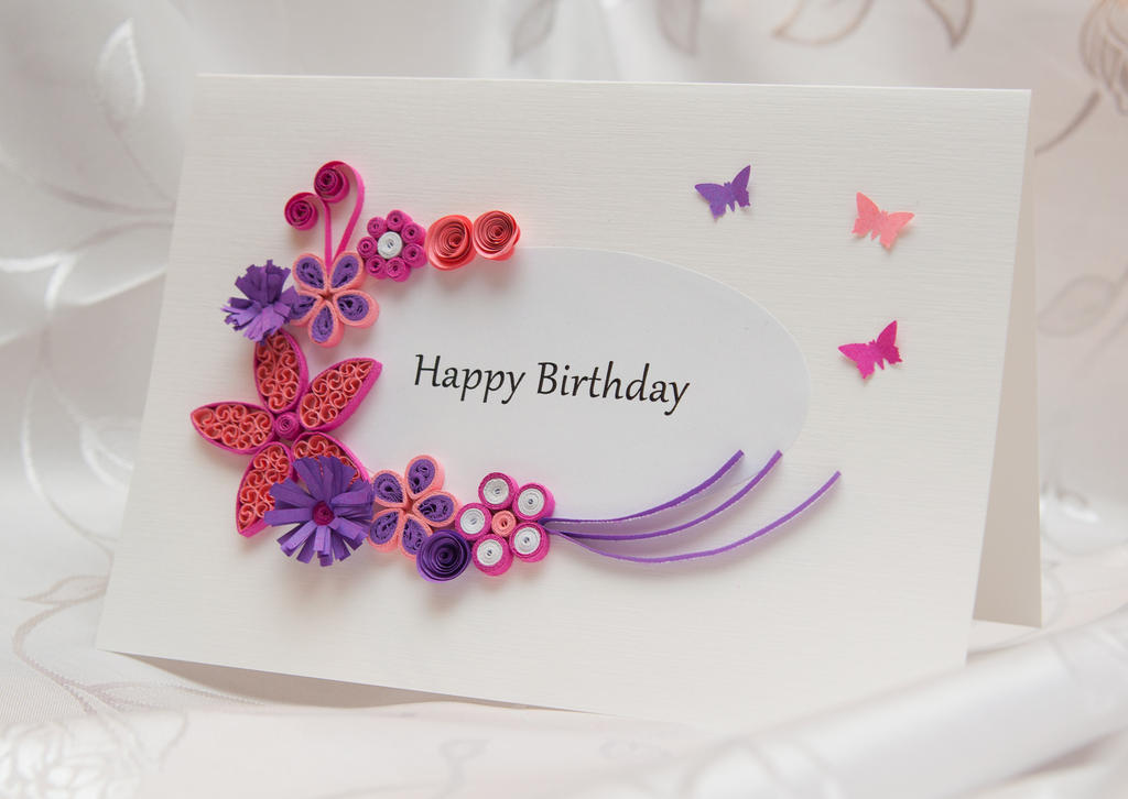 Handmade Birthday Card by Daria86 on DeviantArt – Handmade Happy Birthday Cards