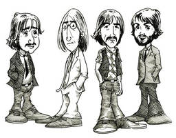 Beatles by garudanam