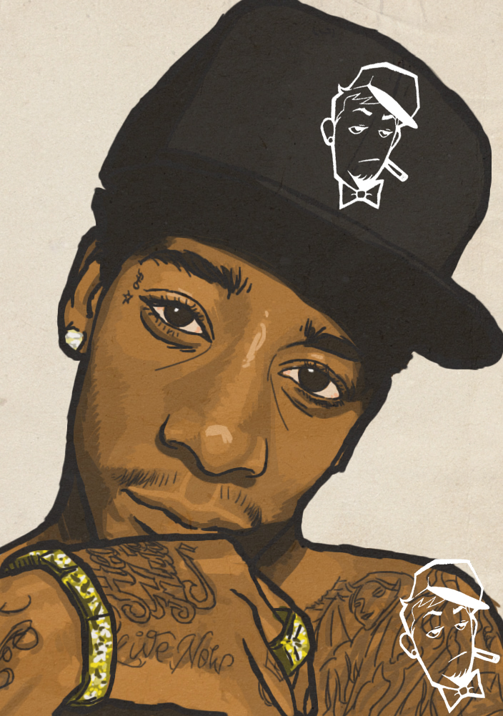 Wiz Khalifa by EarnSomeHeight on DeviantArt Wiz Khalifa Swag Tumblr
