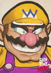 Wario by EarnSomeHeight