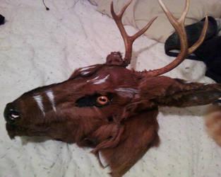 Western Stag Mask by FenrisMau