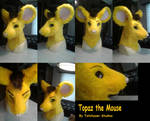 Topaz Fursuit Head