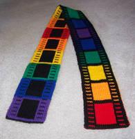 Filmtastic Rainbow Scarf