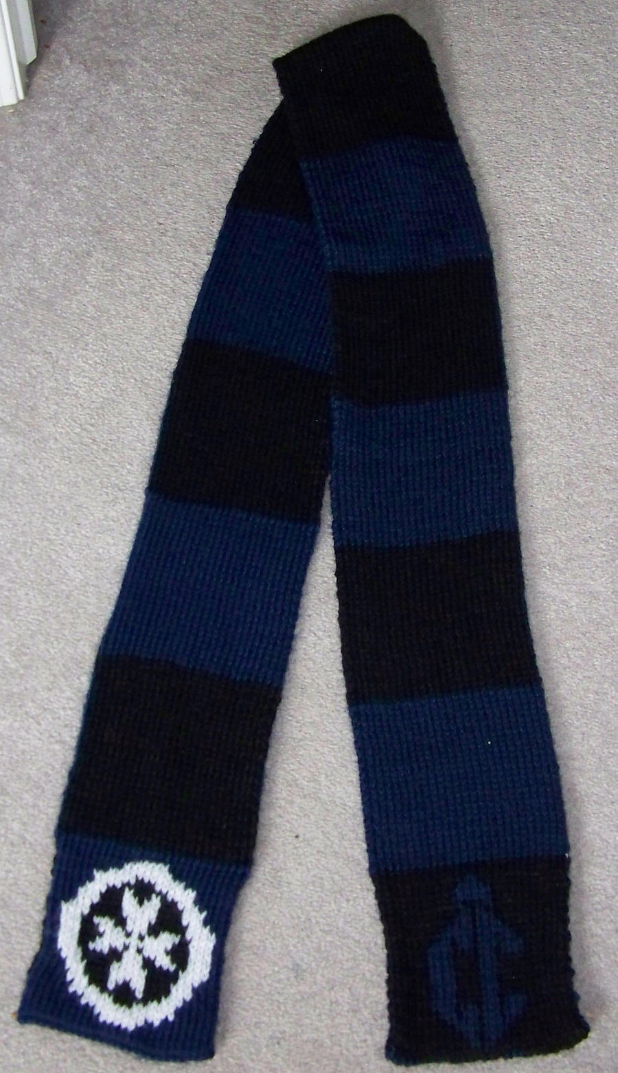 Chameleon Circuit Scarf by harelquin-demon