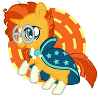 Sunburst, Yer A Wizard by LuckyKitzy