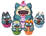 AND NOW, ME EAT CUPCAKE