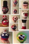 Favorite plushies collage