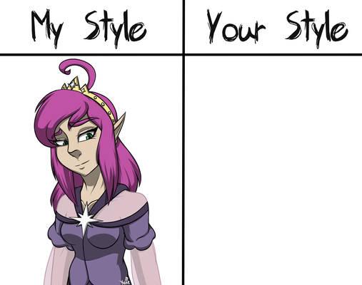 My Style VS Your Style: P. Clara (READ DESC)