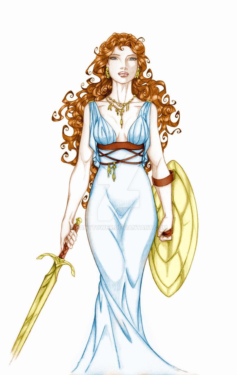 Greek Woman Warrior Anyae's Greek Warrior ...