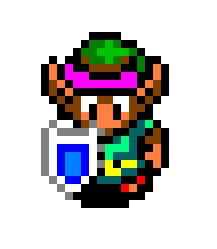 16 Bit Link By Fawfuldude11 On Deviantart