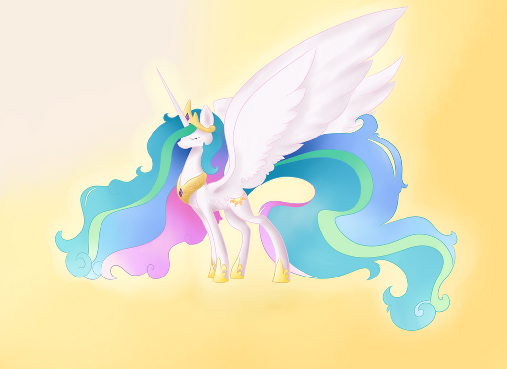 Celestia by DaPuddingz