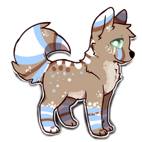Dog Adoptable/Design :Closed: by theperfecta