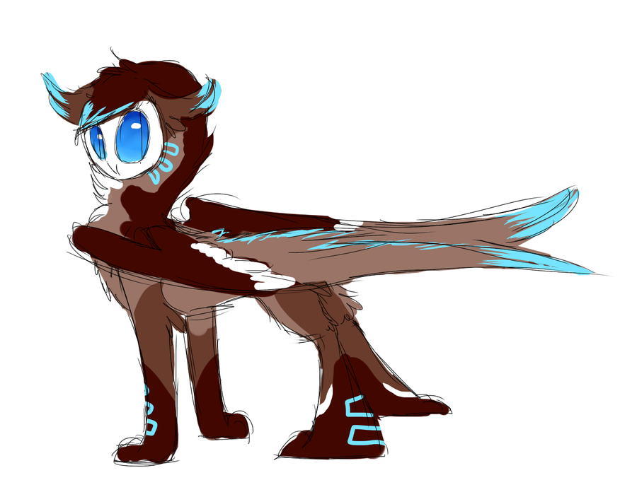 Owl Creature Design/Adoptable :Closed: by theperfecta