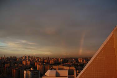 sunset rainbow by stef777