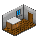Simple Room by wensly