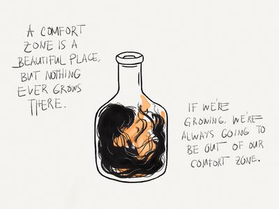 Comfort zone by rezhuane12