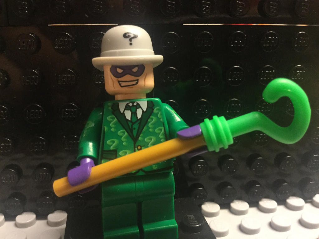 Custom Lego Riddler by Recmonty
