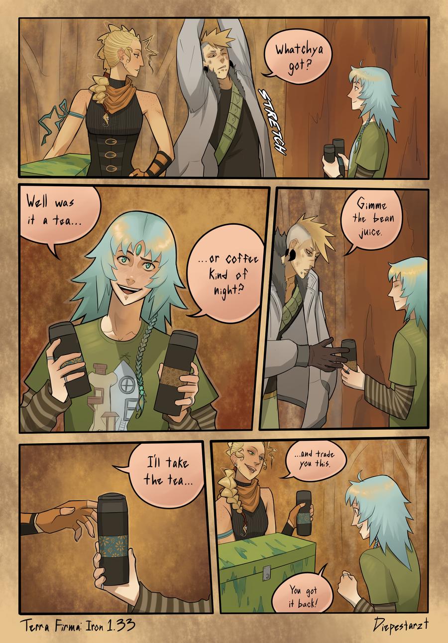 Terra Firma - Iron: Page 1.33 by DiePestArzt