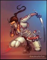 Ninja by Shinou COLOR by vest