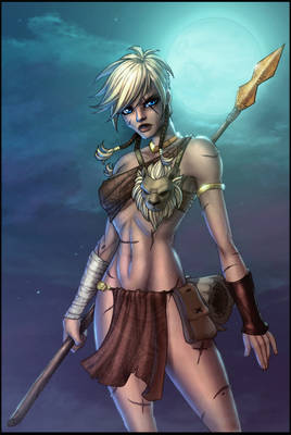 Attarra:Scarred Princess COLOR