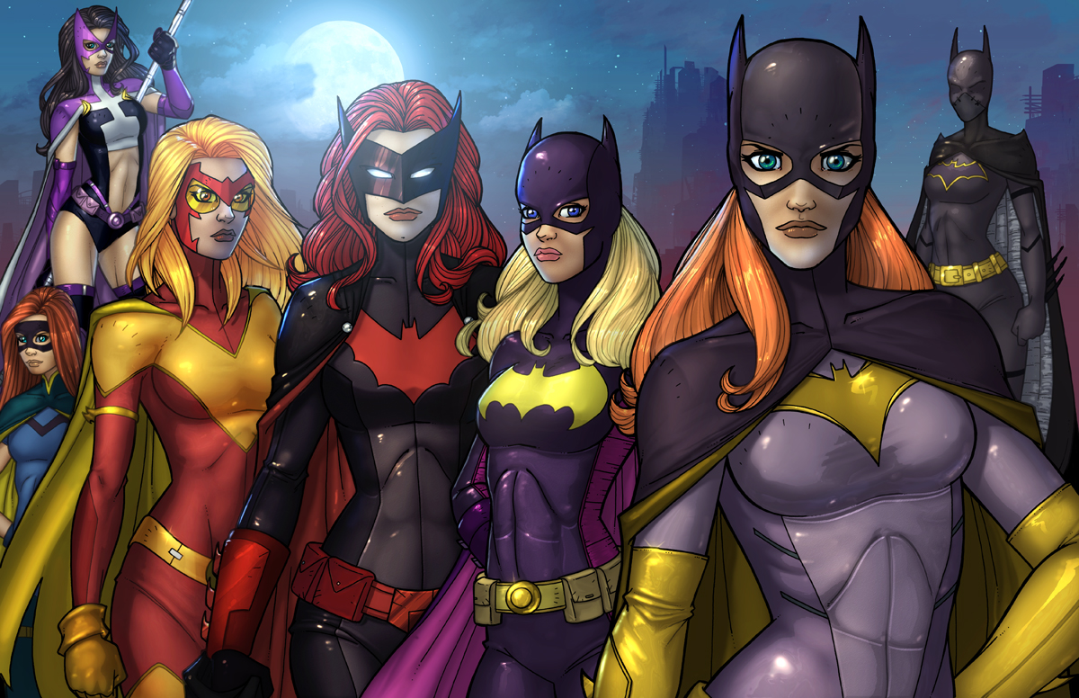 Batwoman Xxx batwomen colorvest on deviantart