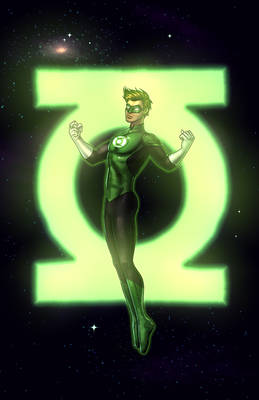 Green Lantern_COMMISSION