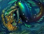 Sleeping Mermaid_COLOR