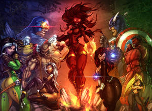 X-Men vs Avengers_COLOR