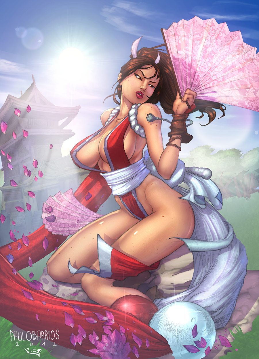 Mai Shiranui_COLOR by vest