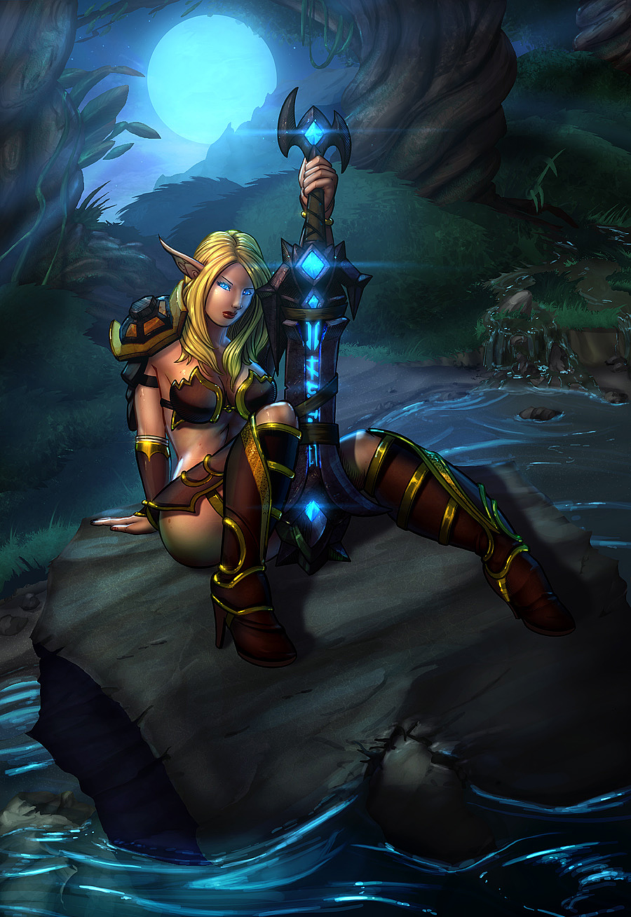 Blood Elf Color_1 by vest