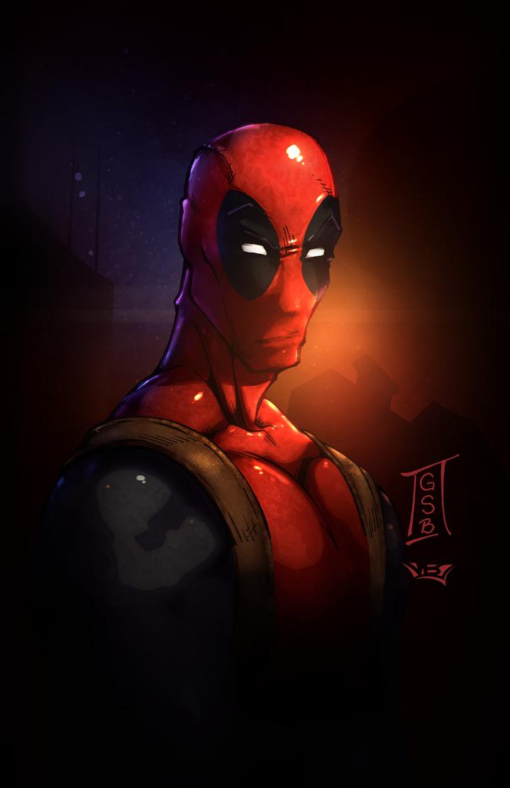Deadpool Portrait by vest